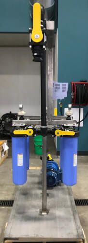 T-Mag Filtration Skid Side