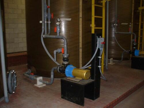 Sulfuric Acid Pumping